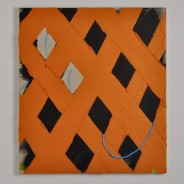 Acrylic with oil and beeswax on canvas, 2013.