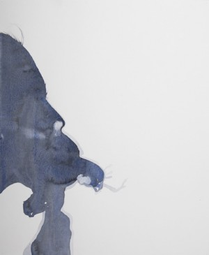 collaborative watercolour drawing on paper, 2010 50cm x 40cm unframed. Photo: Simon Pantling