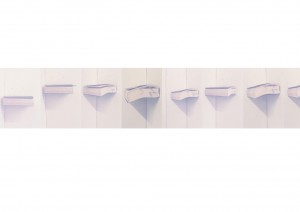 """2012, sequence of 106, 6""""x4"""" photographs"""