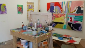Stuart Edmundson studio visit