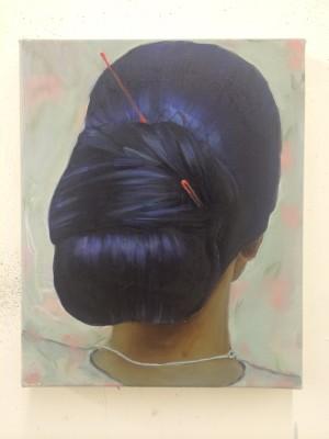 Oil on canvas, Photo courtesy the artist.