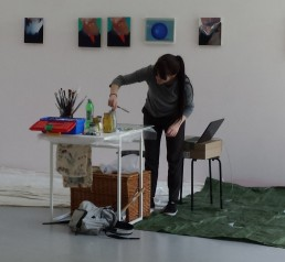 Louise  Giovanelli studio residency at The International 3